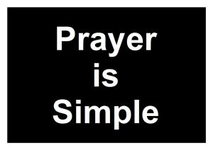 Prayer-is-simple-logo